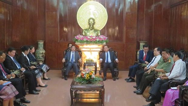 Le Laos appelle les entreprises de Can Tho a investir dans l'agriculture hinh anh 1