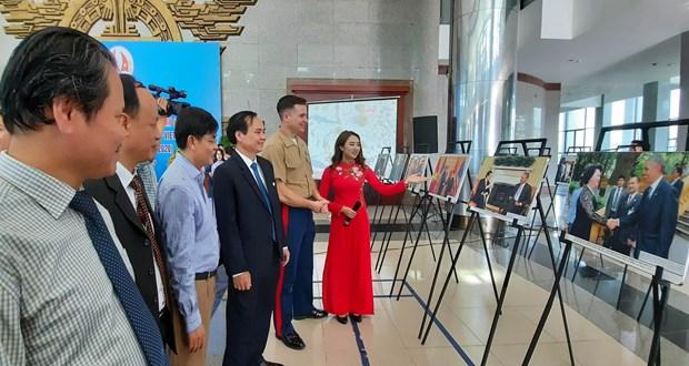 Quang Tri : Ouverture d'une exposition de photos sur le Vietnam et les Etats-Unis hinh anh 1