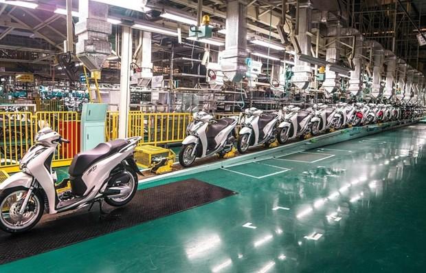 Les ventes de motos en baisse au deuxieme trimestre hinh anh 1