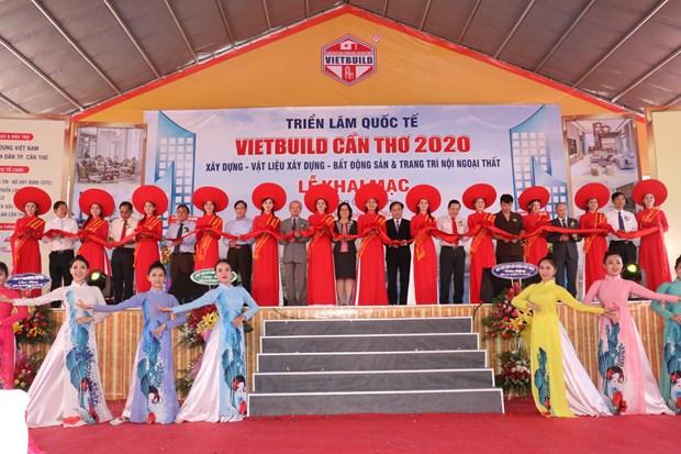 Ouverture de l'exposition internationale Vietbuild Can Tho 2020 hinh anh 1
