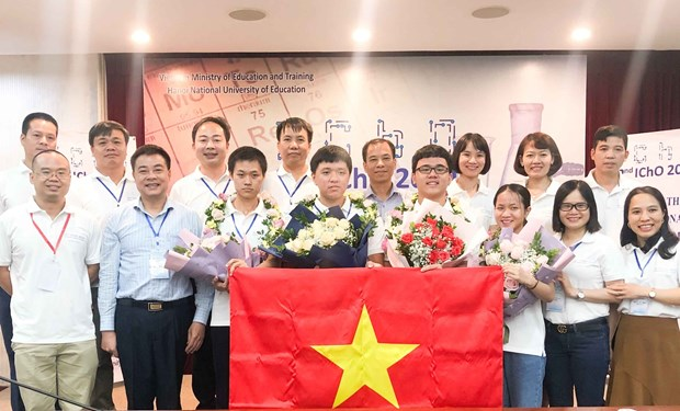 Olympiades internationales de Chimie 2020 : Le Vietnam se classe au 2e rang mondial hinh anh 1