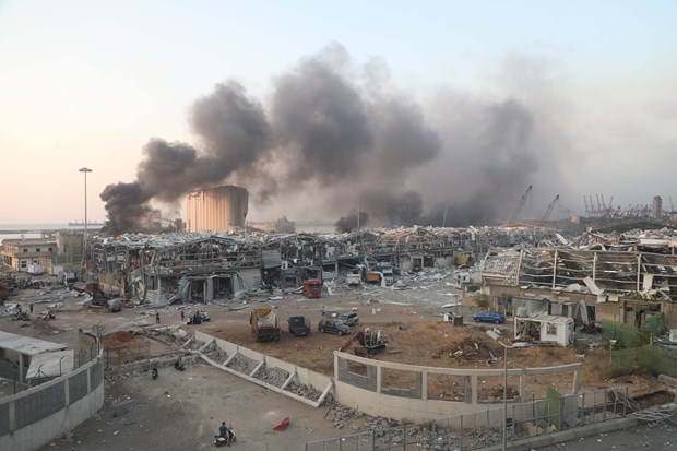 Une Vietnamienne blessee dans des explosions meurtrieres a Beyrouth (Liban) hinh anh 1