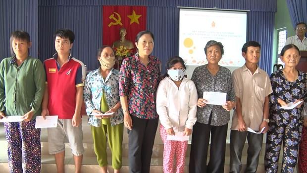 Aide pour les victime de l'agent orange/dioxine a Tien Giang hinh anh 1