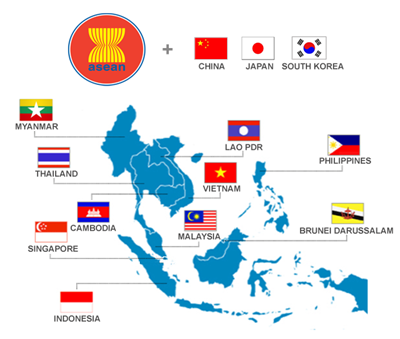 AMRO : l'ASEAN+3 connaitra une reprise economique en forme de lettre