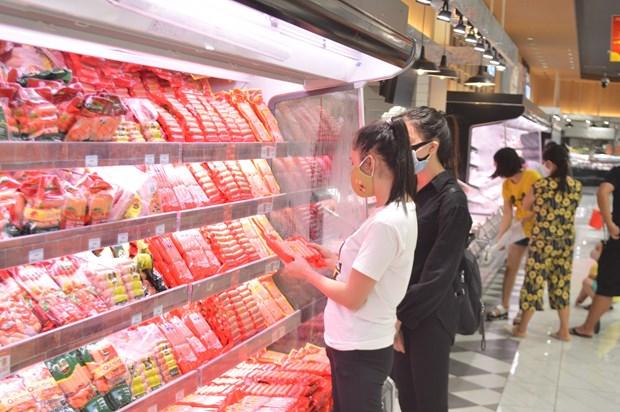 COVID-19 : Hanoi assure l'approvisionnement en biens necessaires aux habitants hinh anh 1