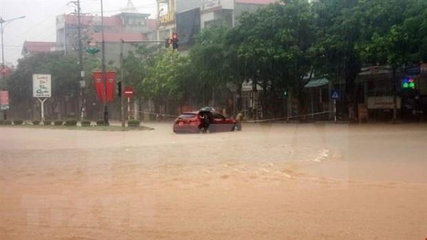 Vinh Phuc : De fortes pluies tuent deux personnes et affectent la production agricole hinh anh 1