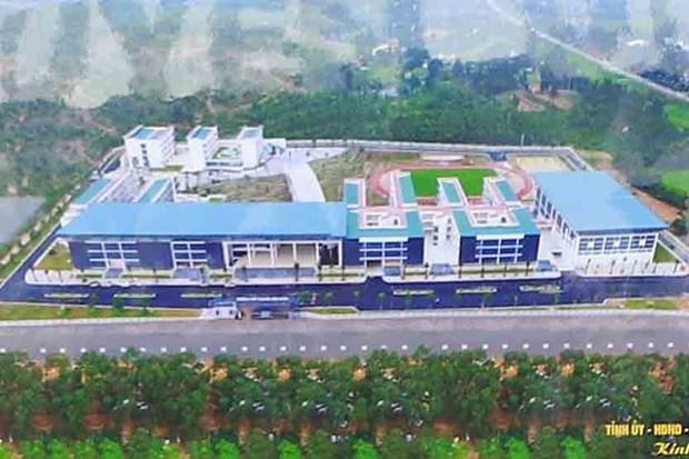 Vinh Phuc : Inauguration d'un lycee d'excellence de 20 millions d'USD hinh anh 2