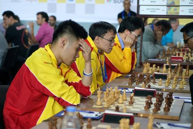 Le Vietnam affronte des meilleures equipes a l'Olympiade internationale d'echecs en ligne 2020 hinh anh 1