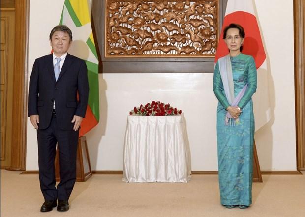Le Japon et le Myanmar conviennent de rouvrir leurs frontieres hinh anh 1