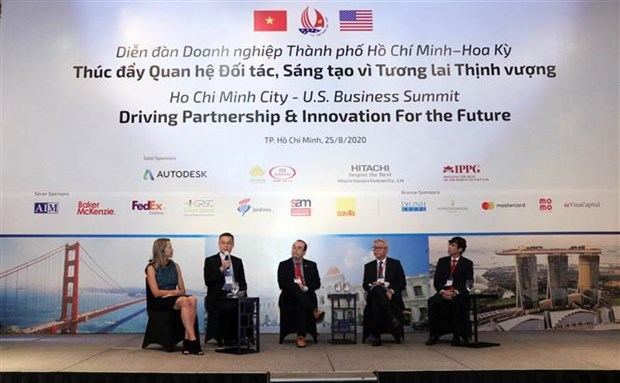 Sommet d'affaires HCM-Ville - Etats-Unis: moteur de partenariat et d'innovation pour l'avenir hinh anh 1