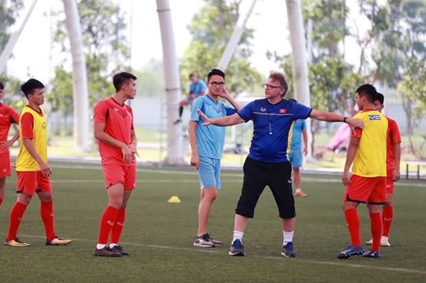 Football : L'equipe U19 bien preparee pour le Championnat d'Asie U19 2020 hinh anh 1