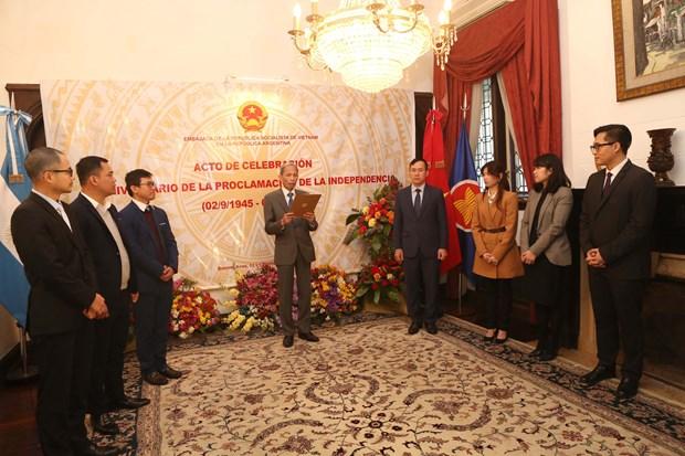 Celebration de la Fete nationale du Vietnam en Russie et en Argentine hinh anh 3
