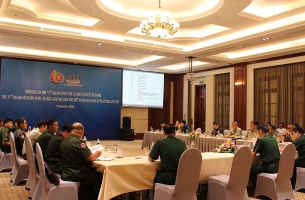 Le Vietnam prepare des reunions militaires de l'ASEAN hinh anh 1