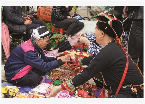 Ham Yen preserve et valorise le tissage de brocart hinh anh 3
