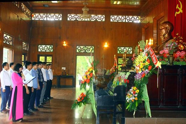 Nghe An commemore le 51e anniversaire du deces du President Ho Chi Minh hinh anh 1