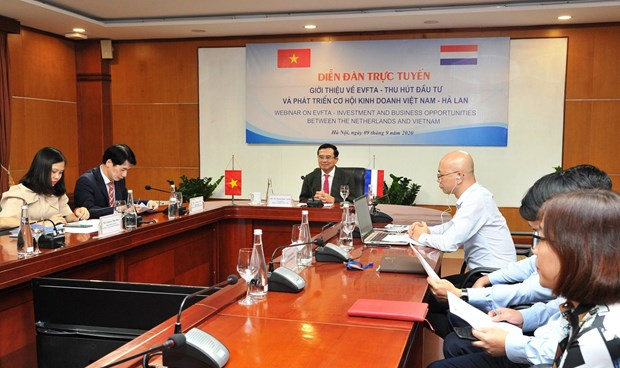 EVFTA: opportunite de cooperation commerciale Vietnam-Pays-Bas hinh anh 1