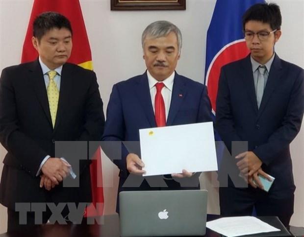Le Vietnam et le Panama cherchent a renforcer la cooperation bilaterale hinh anh 1