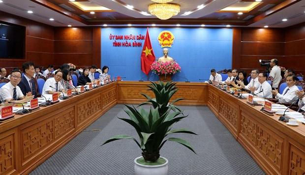 Hoa Binh deroule le tapis rouge aux entreprises sud-coreennes hinh anh 1