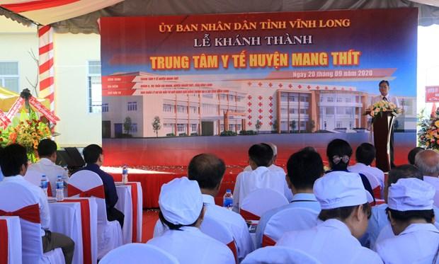 Vinh Long: inauguration de nombreux travaux a l'occasion du XIe Congres du Parti hinh anh 2