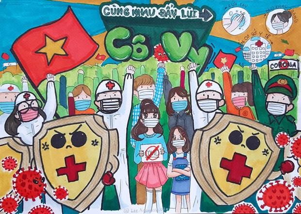 Un magazine americain souligne la solidarite des Vietnamiens dans leur lutte contre le COVID-19 hinh anh 1