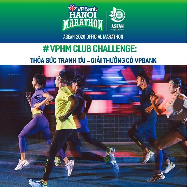 Pres de 7.000 coureurs participeront au VPBank Hanoi Marathon ASEAN 2020 hinh anh 1