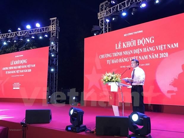 Le programme « Fiers des produits vietnamiens » promeut la consommation interieure hinh anh 2