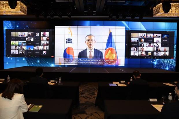 Lancement d'un projet de formation professionnelle technique ASEAN-Republique de Coree hinh anh 1