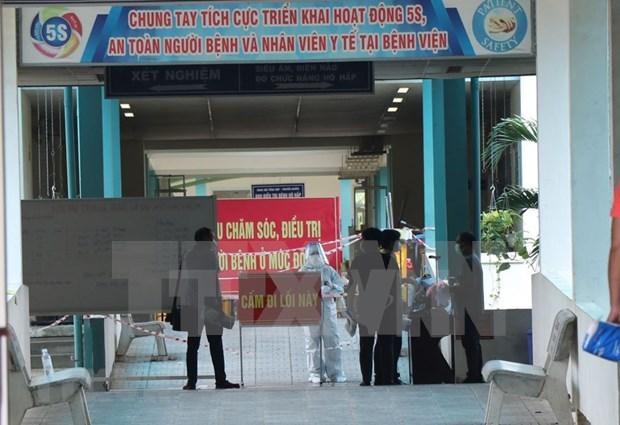 COVID-19: Dissolution de l'hopital de campagne de Hoa Vang a Da Nang hinh anh 1
