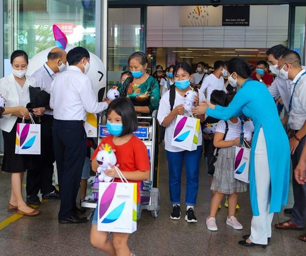 L'ancien hot spot de COVID-19 Da Nang accueillit ses premiers touristes post epidemie hinh anh 1