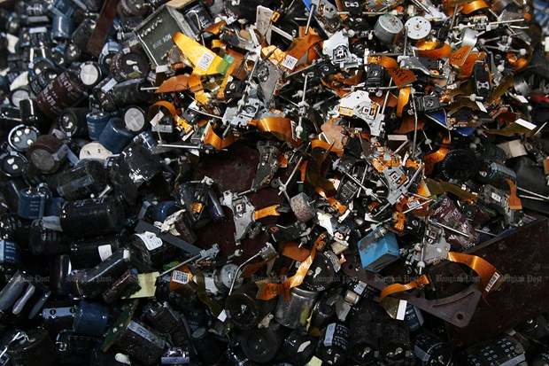 Thailande : Interdiction d'importation de 428 types de dechets electroniques hinh anh 1
