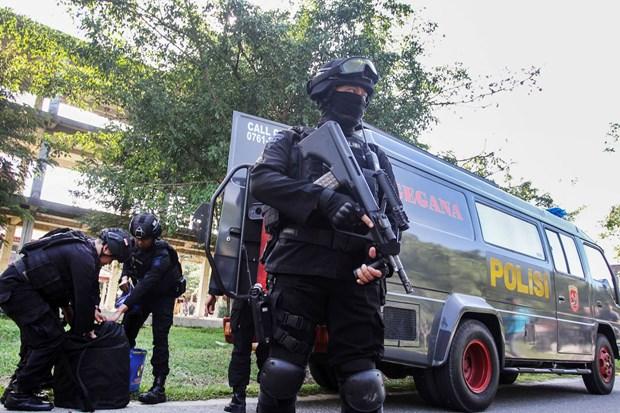 Indonesie : Quatre terroristes presumes arretes a Java occidental hinh anh 1