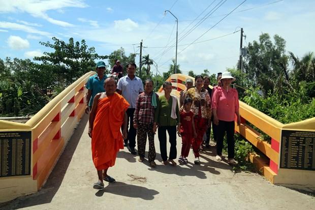 Kien Giang: cooperation internationale pour aider le developpement des zones de minorites ethniques hinh anh 1