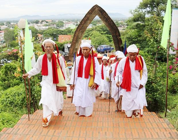 L'ethnie Cham a Ninh Thuan celebre la fete Kate 2020 hinh anh 2