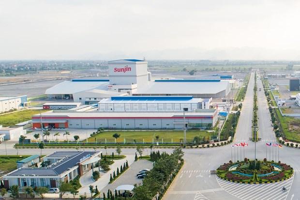 Ha Nam : plus de 500 millions d'USD verse dans les industries de fabrication et auxiliaires hinh anh 1