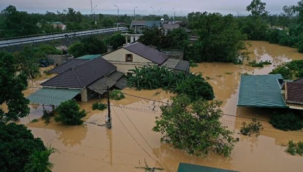 Inondations au Centre : Messages de sympathie de dirigeants laotiens et thailandais hinh anh 1