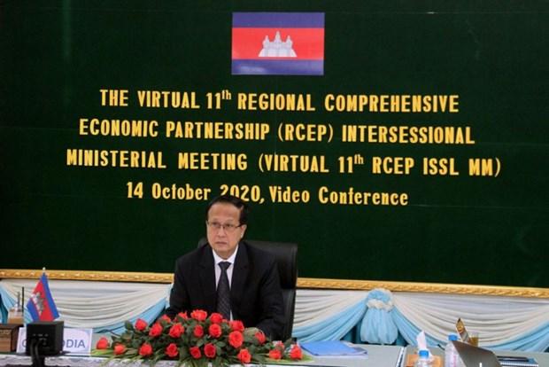 Le Cambodge est pret a signer le Partenariat economique regional global (RCEP) hinh anh 1