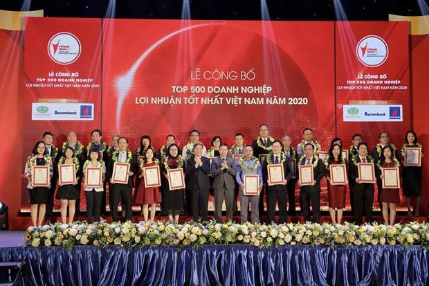 Les 500 entreprises du Vietnam aux plus grands profits a l'honneur hinh anh 1