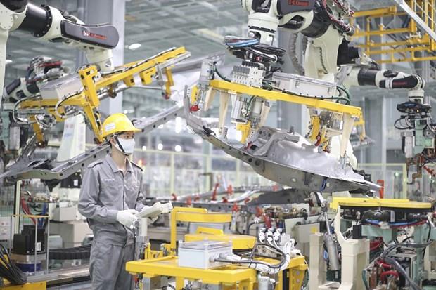 Les produits industriels manufacturiers representent 84,8% des exportations nationales hinh anh 1
