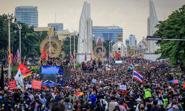 Le Parlement thailandais tient une session speciale sur le conflit politique actuel hinh anh 1