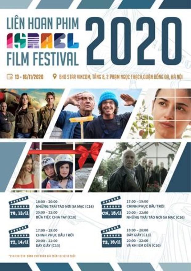 Le Festival du film d'Israel 2020 prevu du 7 au 11 novembre hinh anh 1