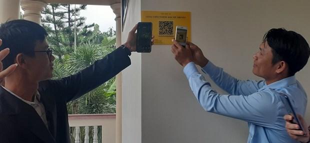 Ba Ria-Vung Tau utilise des codes QR pour numeriser les informations sur les sites touristiques hinh anh 2