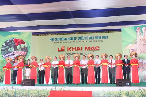 La Foire internationale de l'agriculture du Vietnam 2020 s'ouvre a Can Tho hinh anh 1