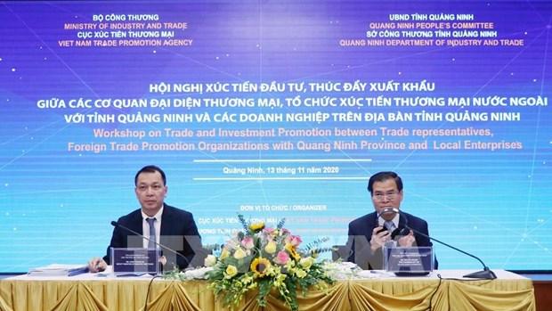 Quang Ninh cherche a promouvoir l'investissemement et le commerce hinh anh 1