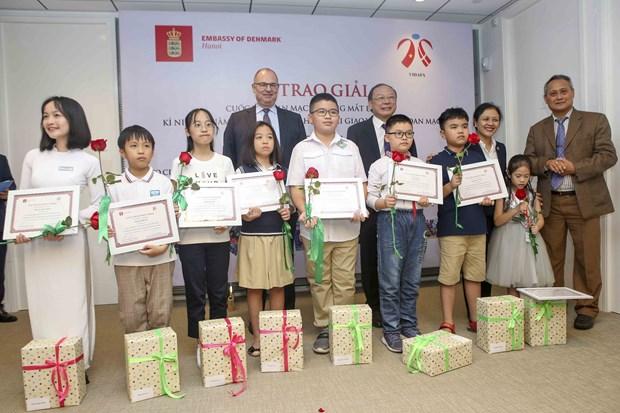 Concours: le Danemark dans les yeux de 16.000 eleves vietnamiens hinh anh 1