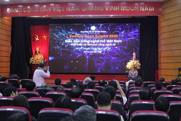 Forum sur la technologie ouverte du Vietnam 2020: Promouvoir la transformation numerique nationale hinh anh 1