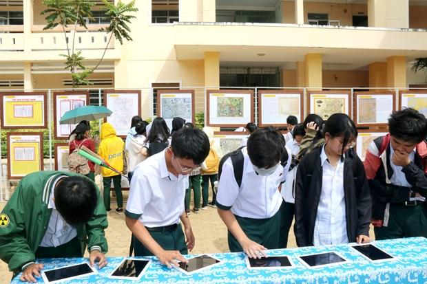 Exposition «Hoang Sa, Truong Sa du Vietnam - Preuves historiques et juridiques» a Binh Thuan hinh anh 1