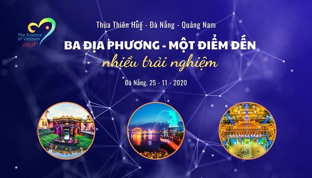 Da Nang, Quang Nam et Thua Thien-Hue s'associent pour stimuler la relance touristique hinh anh 1