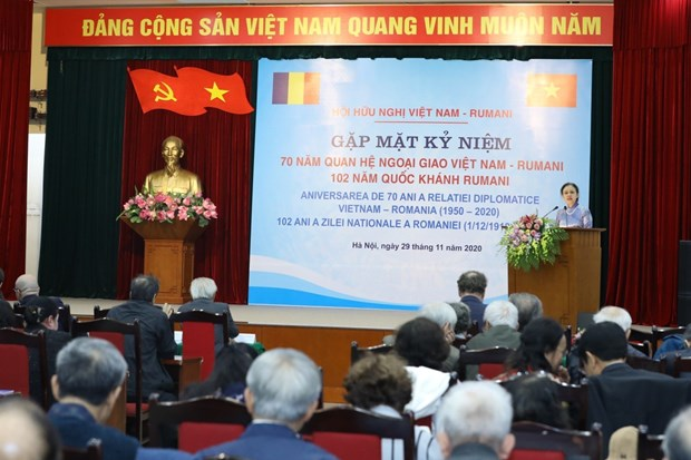 Celebration des 70 ans de l'etablissement des relations diplomatiques Vietnam - Roumanie hinh anh 1