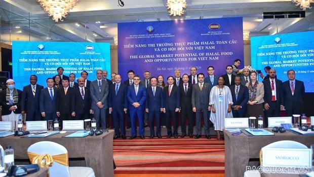 Opportunite pour le Vietnam de promouvoir ses exportations de produits alimentaires halal hinh anh 1