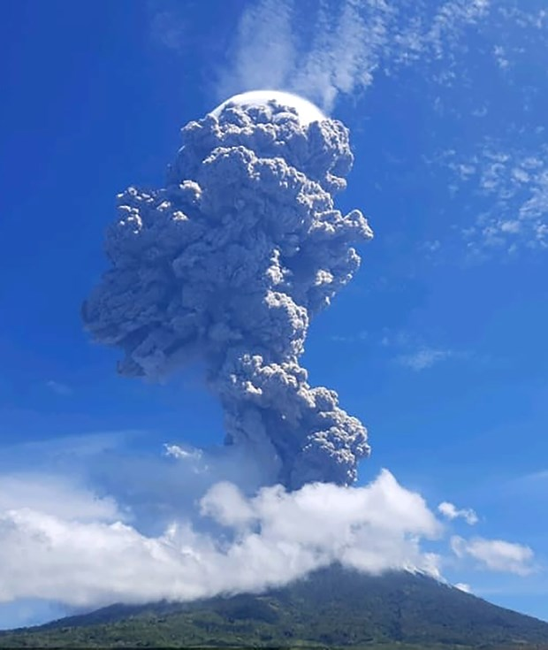 Indonesie : Plus de 4.600 residents evacues apres l'eruption du mont Ili Lewotolok hinh anh 1